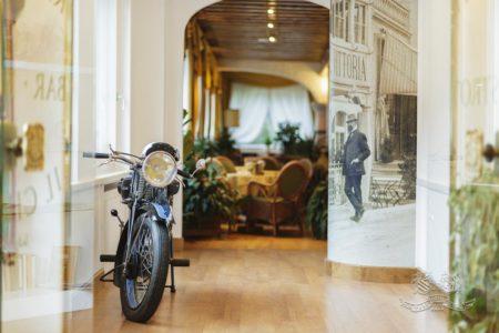 Tra passato e presente, le moto storiche di Eric